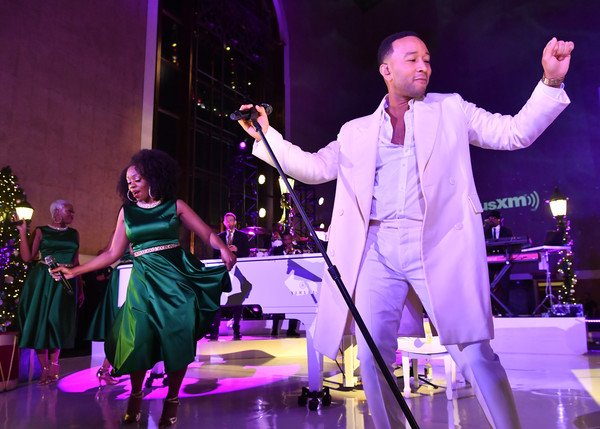 John Legend Spreads Holiday Cheer