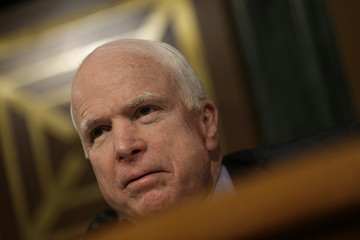 John McCain Senate Holds Hearing on Wall Street Bank Involvement