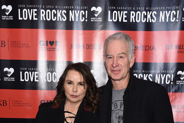 John McEnroe The Second Annual LOVE ROCKS NYC! A Benefit Concert for God's Love We Deliver - Red Carpet