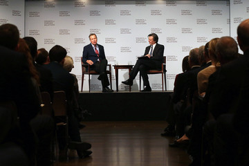 John Micklethwait GOP Presidential Candidate John Kasich Discusses His Plan for US National Security