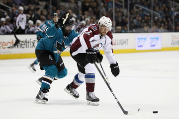John Mitchell Colorado Avalanche v San Jose Sharks