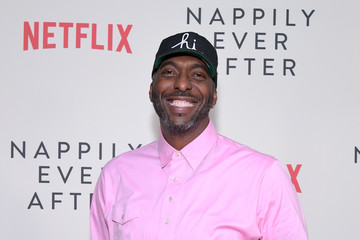 John Salley Netflix's 'Nappily Ever After' Special Screening