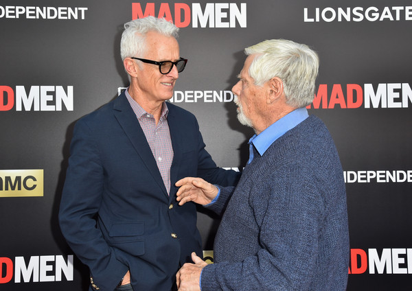 'Mad Men' Live Read & Series Finale - Arrivals [mad men,event,photography,arrivals,film independent,robert morse,john slattery,ace hotel downtown la,california,amc,lionsgate,series finale]