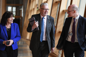 John Swinney Nicola Sturgeon Takes First Minister's Questions