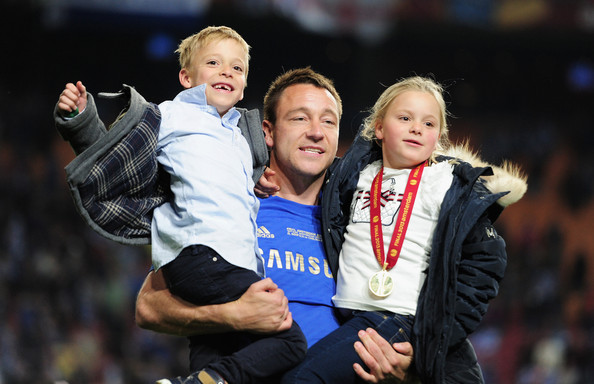 Photo of John Terry & his  Son  Georgie John Terry