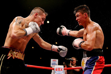 John Thain Ricky Burns v Kevin Mitchell - WBO World Lightweight Championship