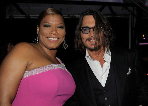 johnny depp 2011 images. Johnny Depp Host Queen Latifah