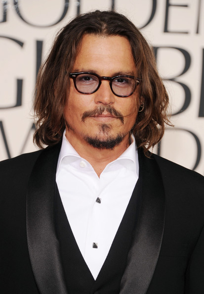 Johnny Depp Actor Johnny Depp arrives at the 68th Annual Golden Globe Awards