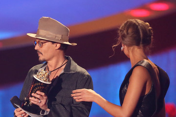 Johnny Depp MTV Movie Awards Show