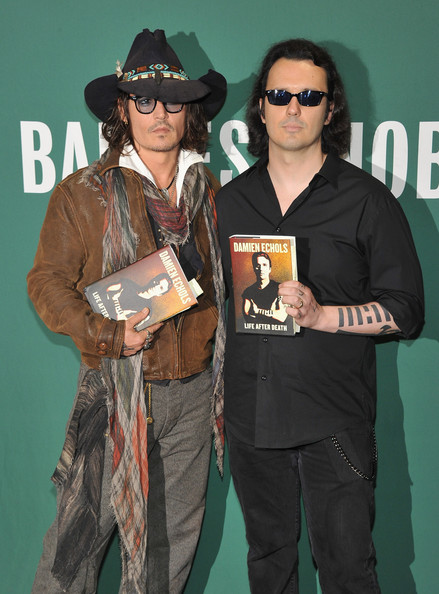 Johnny Depp - Damien Echols In Discussion With Johnny Depp