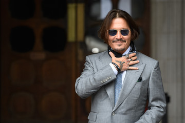 Johnny Depp Depp Libel Trial Continues In London