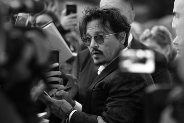 Johnny Depp 'Waiting For The Barbarians' Red Carpet Arrivals - The 76th Venice Film Festival