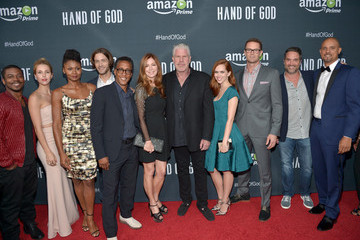 Johnny Ferro Amazon Premieres a Screening for Original Drama Series 'Hand of God'