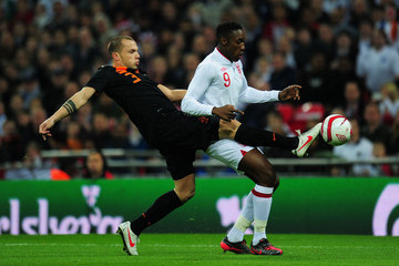 Johnny Heitinga England v Netherlands - International Friendly