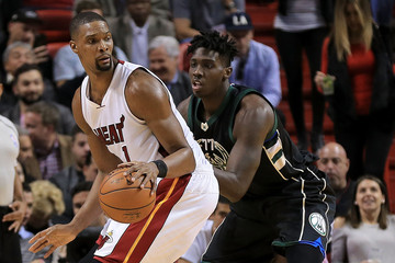 Johnny O'Bryant III Milwaukee Bucks v Miami Heat