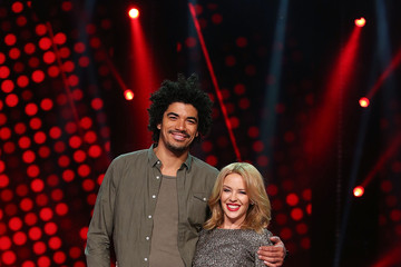 Johnny Rollins The Voice Final Five And Their Coaches - Media Call