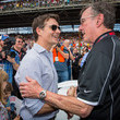 Johnny Rutherford Celebrities Attend Race - 2015 Indy 500