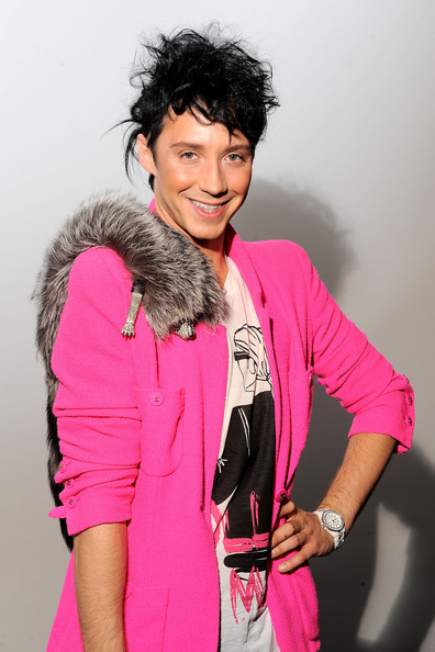 Johnny+Weir+Around+Lincoln+Center+Day+8+