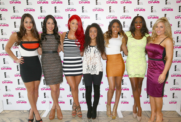 WWE's Total Divas Gather in Hollywood