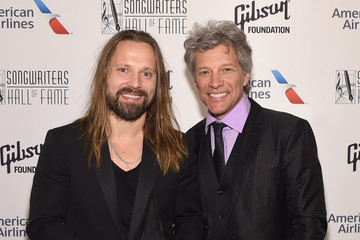 Jon Bon Jovi Songwriters Hall of Fame 48th Annual Induction and Awards - Backstage
