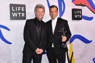 Jon Bon Jovi LIFEWTR Winner's Walk at CFDA Awards 2017
