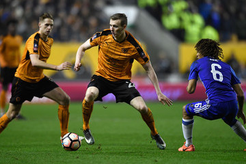 Jon Dadi Bodvarsson Wolverhampton Wanderers v Chelsea - The Emirates FA Cup Fifth Round