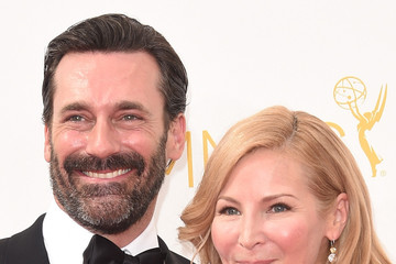 Jon Hamm Arrivals at the 66th Annual Primetime Emmy Awards — Part 2
