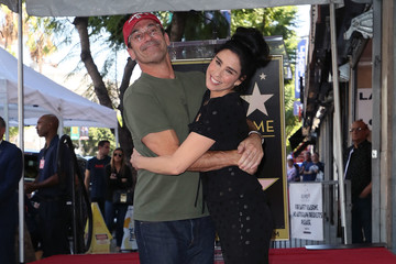 Jon Hamm Sarah Silverman Honored With Star On The Hollywood Walk Of Fame