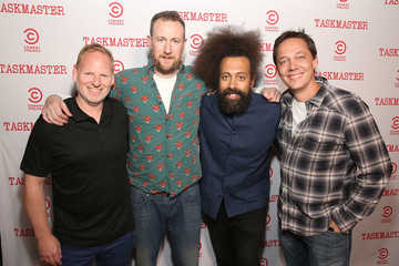 Jonas Larsen Comedy Central's 'Taskmaster' Premiere Party