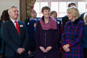 Jonathan Douglas The Duchess of Cornwall Undertakes Engagement For The National Literary Trust