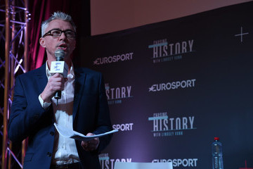 Jonathan Edwards FIS World Ski Championships - Eurosport Press Conference