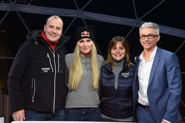 Jonathan Edwards FIS World Ski Championships - Lindsey Vonn Interview