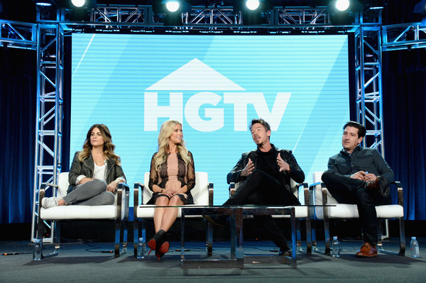 Discovery Networks Present At Winter TCA Tour 2019 [stage,event,performance,convention,costume,talent show,media,performing arts,heater,stage equipment,christina anstead,jonathan knight of farmhouse fixer,david bromstad of my lottery dream home,renovation expert,alison victoria,l-r,discovery networks,real estate developer,windy city rehab,winter tca tour]