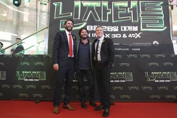 Jonathan Liebesman Andrew Form 'Teenage Mutant Ninja Turtles' Premieres in Seoul