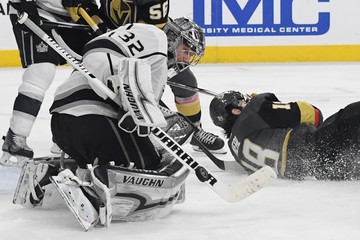 Jonathan Quick Los Angeles Kings vs. Vegas Golden Knights - Game Two