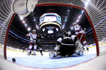 Jonathan Quick Ryan McDonagh 2014 NHL Stanley Cup Final - Game Two