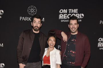 Jonathan Scott Drew Scott On The Record Speakeasy And Club Red Carpet Grand Opening Celebration At Park MGM
