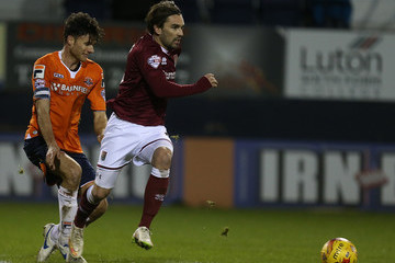 Jonathan Smith Luton Town v Northampton Town - Sky Bet League Two