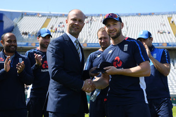 Jonathan Trott England v West Indies - 1st Investec Test: Day One
