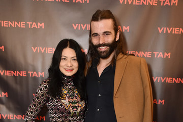 Jonathan Van Ness Vivienne Tam - Backstage - February 2018 - New York Fashion Week: The Shows