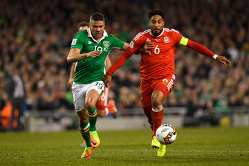 Jonathan Walters Republic of Ireland v Wales - FIFA 2018 World Cup Qualifier