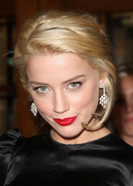 Amber Heard Actress Amber Heard arrives at the