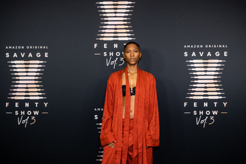 Jonica T. Gibbs Rihanna's Savage X Fenty Show Vol. 3 presented by Amazon Prime Video - Step and Repeat