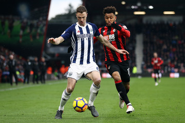 Jonny Evans AFC Bournemouth vs. West Bromwich Albion - Premier League