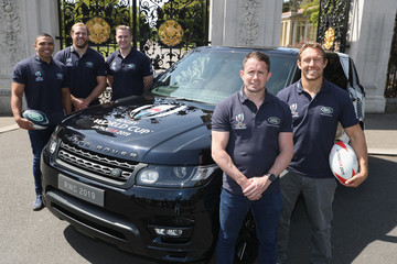 Jonny Wilkinson Rugby World Cup 2019 Land Rover Sponsorship Launch