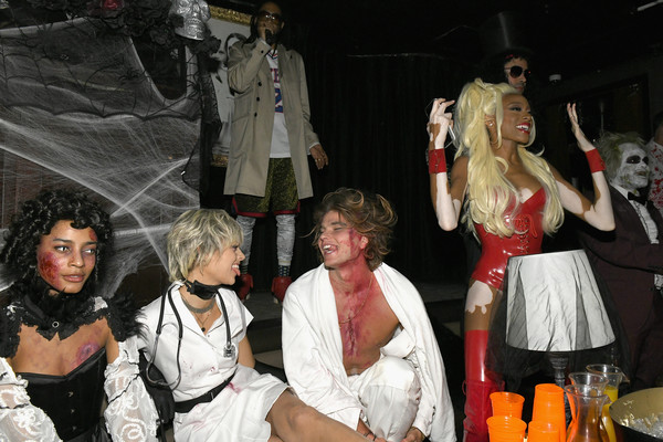 Heidi Klum's 19th Annual Halloween Party Sponsored By SVEDKA Vodka And Party City At Lavo NYC