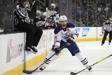 Jordan Eberle Edmonton Oilers v San Jose Sharks - Game Three