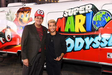 Jordan Fisher Super Mario Odyssey Launch Event Co-Hosted by Jordan Fisher