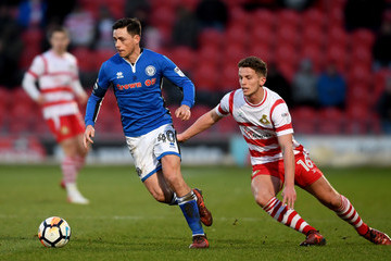 Jordan Houghton Doncaster Rovers v Rochdale AFC - The Emirates FA Cup Third Round