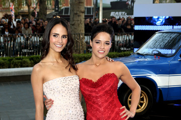 Jordana Brewster Michelle Rodriguez 'Fast & Furious 6' Premieres in London 6